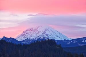 Mount Rainier Sunrise Washington 5k
