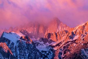 Mount Whitney In California Wallpaper