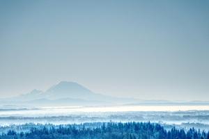 Mountain During Winter 5k