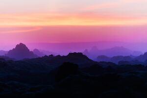 Mountain Range Scenery Peak Iceand Flare Light 5k Wallpaper