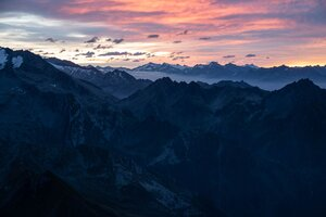 Mountain Ranges Horizon Fog 5k Wallpaper