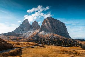 Mountains Autumn Italy Roads 5k Wallpaper