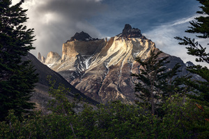 Mountains Chile Patagonia Torres Del Paine 5k Wallpaper