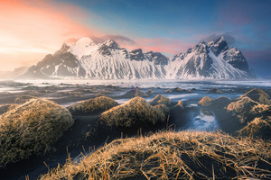 Mountains Iceland 4k Wallpaper