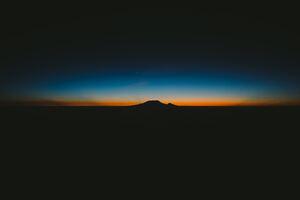 Mountains Morning 4k