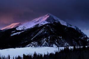 Mountains Peak Snow 5k