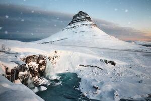 Mountains Snow Winter 5k Wallpaper