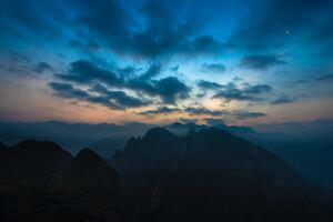 Mountains Twilight 5k