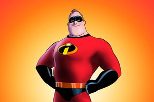 Mr Incredible In The Incredibles 2 2018 Artwork 5k