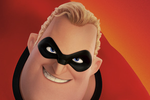 Mr Incredible In The Incredibles 2 5k