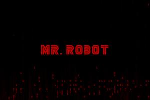 Mr Robot Logo 4k