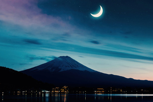 Mt Fuji View 5k Wallpaper