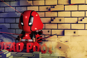 Munny Deadpool Wallpaper
