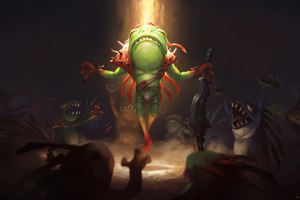 Murloc Warleader Is Coming 4k Wallpaper