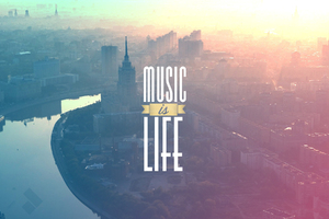 Music is My LIfe Wallpaper