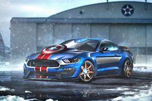 Mustang Captain America