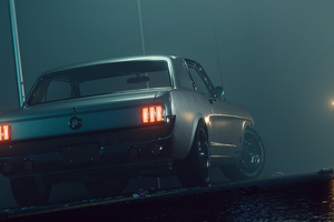 Mustang Fastback Foggy 5k
