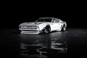 Mustang Mach 1 Front Wallpaper