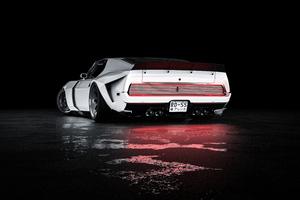 Mustang Mach 1 Rear 5k Wallpaper