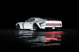 Mustang Mach 1 Rear Wallpaper