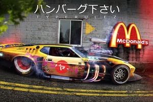 Mustang Mach Mcd Drive Thru Wallpaper