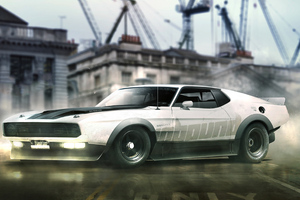 Mustang Mach Wallpaper