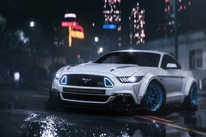 Mustang Need For Speed Payback Wallpaper