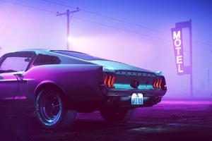 Mustang Scorpion Motel Wallpaper