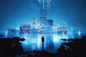 My Blue City 4k