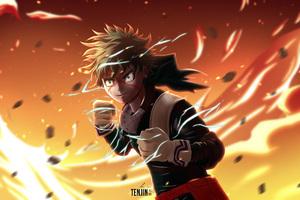 My Hero Academia Izuku Midoriya 4k