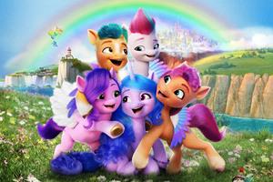 My Little Pony A New Generation 2021 10k Wallpaper