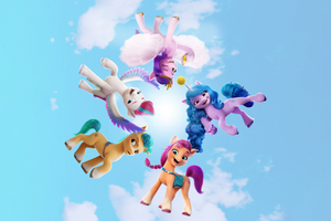 My Little Pony A New Generation Wallpaper
