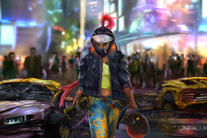 My Night City Cybeprunk 2077 Wallpaper