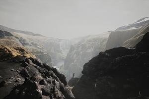 Myrdalssandur Iceland 4k Wallpaper