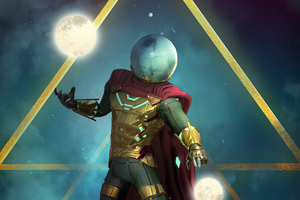 Mysterio Artnew Wallpaper