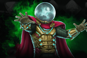 Mysterio Marvel Contest Of Champions Game Wallpaper