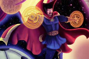 Mystic Art Doctor Strange 4k Wallpaper