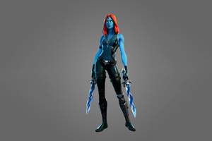 Mystique Fortnite Season 4 Wallpaper