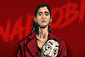Nairobi Money Heist 4k 2020 Wallpaper