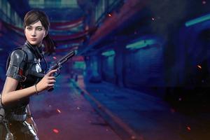 Naomi Mizushima Manta Ray Call Of Duty 5k Wallpaper