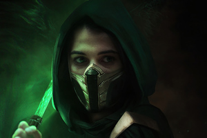 Naomi Scott As Jade Mortal Kombat Movie 5k