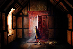Narnia Door Wallpaper