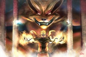 Naruto And Kurama 4k