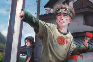 Naruto And Sasuke 4k Wallpaper