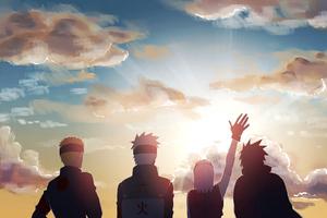 Naruto Anime Art 4k Wallpaper