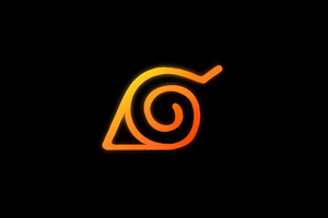Naruto Logo Anime 8k Wallpaper