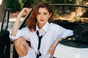Natalia Dyer 2020 Wallpaper