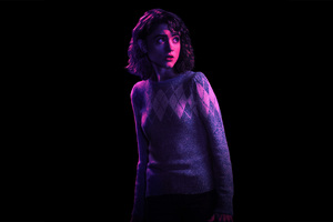 Natalia Dyer As Nancy Stranger Things Season 2 Wallpaper