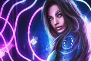 Natalia From Scifi World 5k Wallpaper