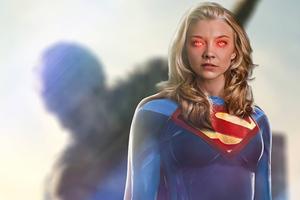 Natalie Dormer As Supergirl 5k Wallpaper